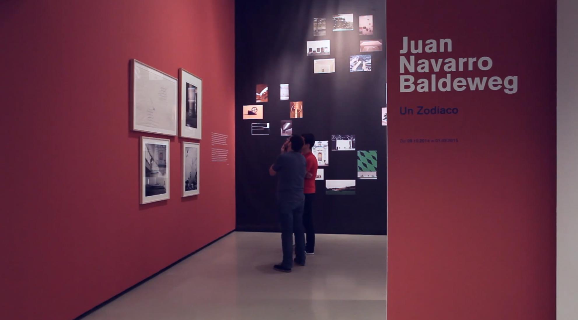 Imágenes de la exposición, Un Zodíaco. Juan Navarro Baldeweg.