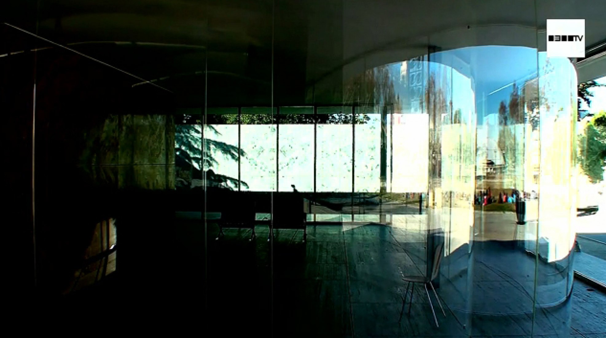 SANAA. Installation at Barcelona Pavilion