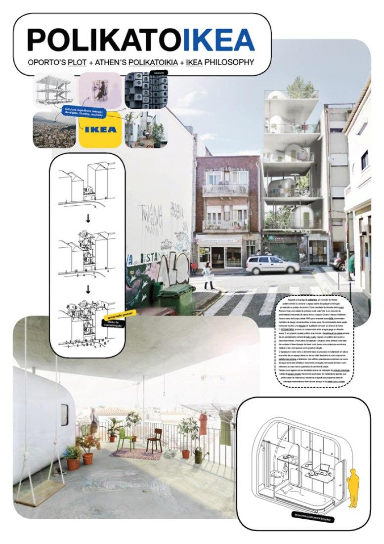 Panel de proyecto por Filipe Magalhães y Ana Luisa Soares.
