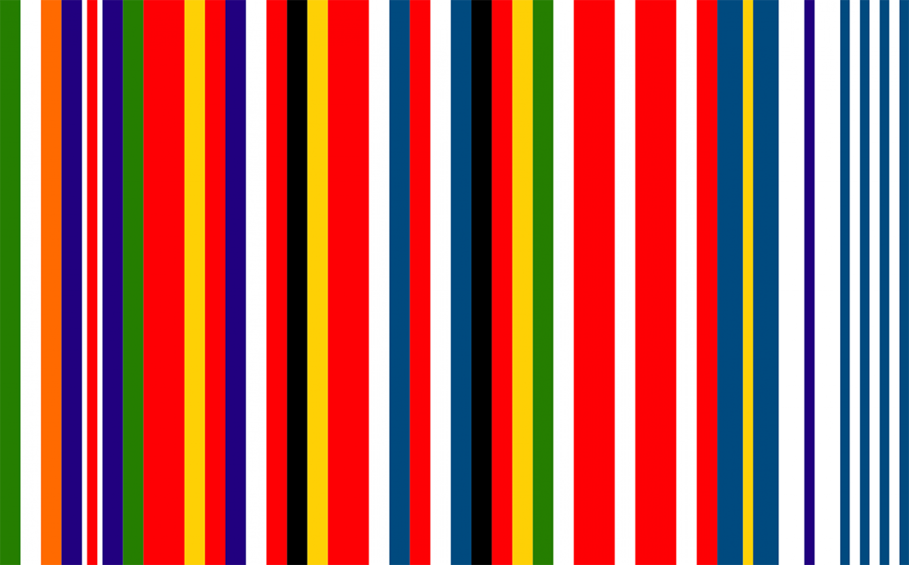 Fictional flag invented by Dutch architect Rem Koolhaas in 2002. Was never adopted as a flag, so not an official symbol. Was however used as a logo of the Austrian EU presidency a few years ago.