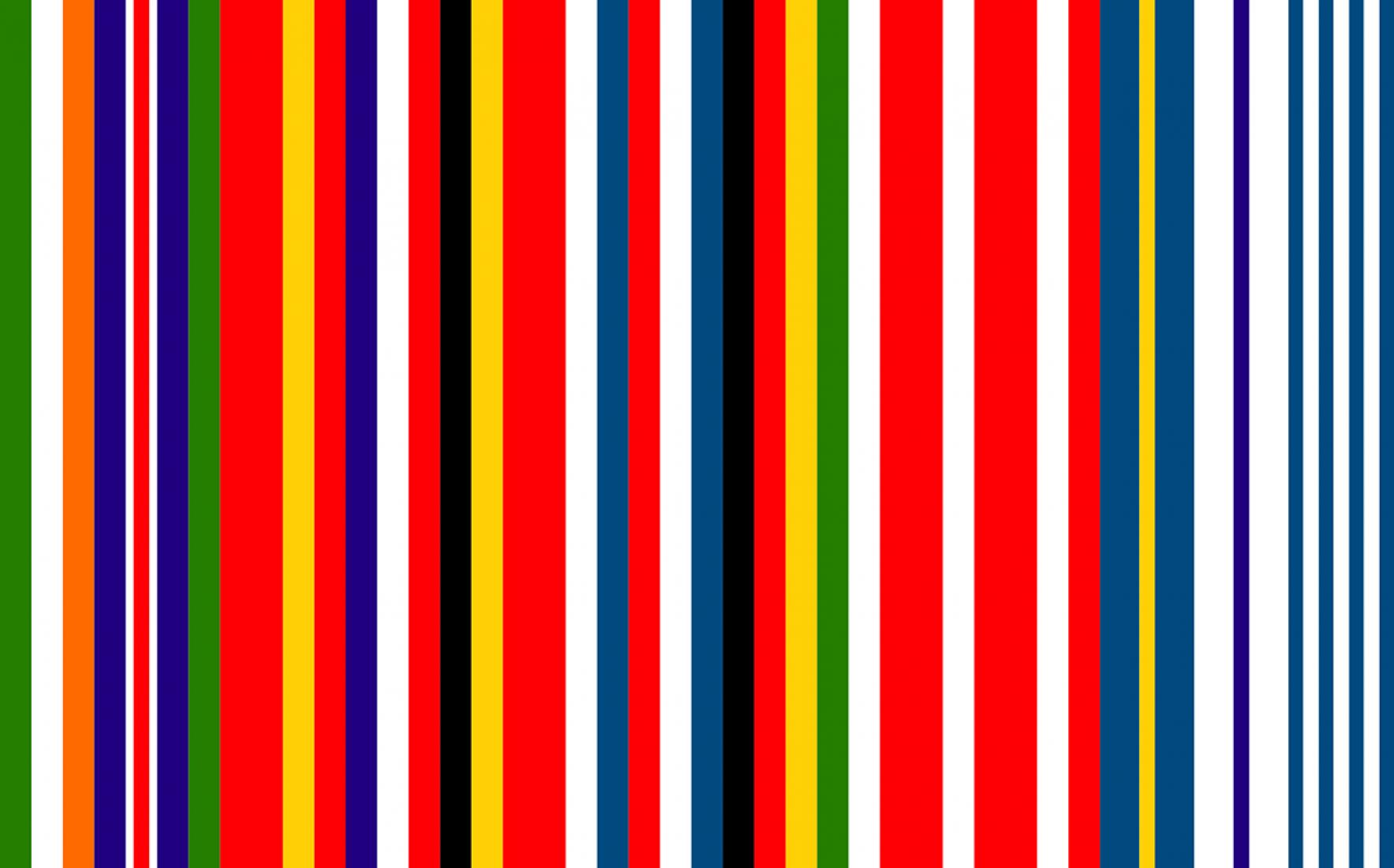 Bandera ficticia diseñada por el arquitecto holandés Rem Koolhaas en 2002. Nunca fue adotada como bandera o símbolo oficial. Sin embargo fue usada como logo durante la presidencia Austriaca de la UE hace unos años.