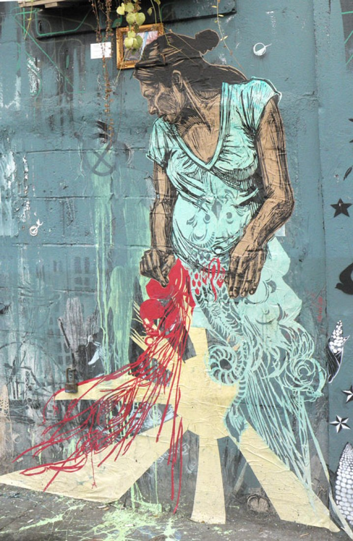 Woman by Swoon.