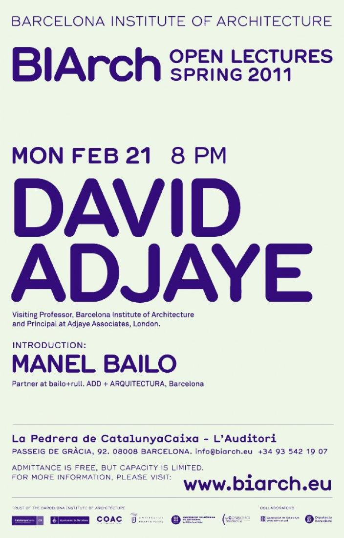 DAVID ADJAYE. Themes and Works