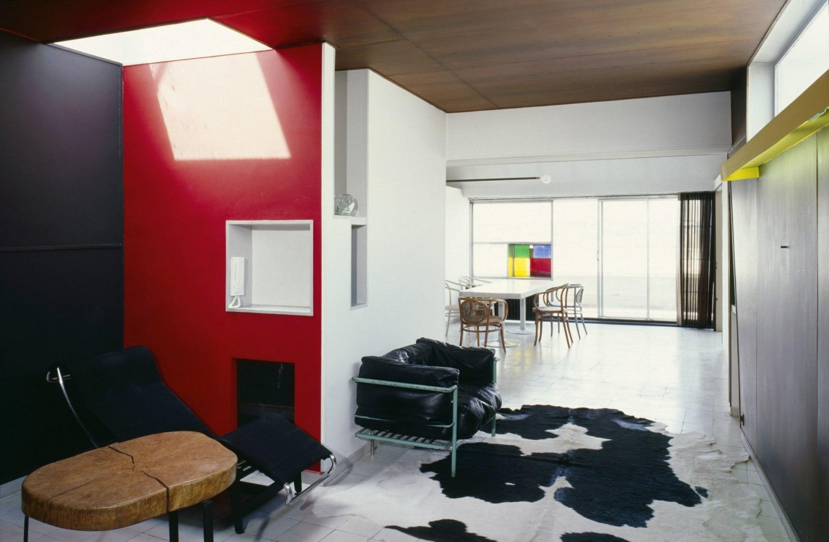 Le Corbusier's apartment. Photograph © Olivier Martin-Gambier 2005. Foundation Le Corbusier.