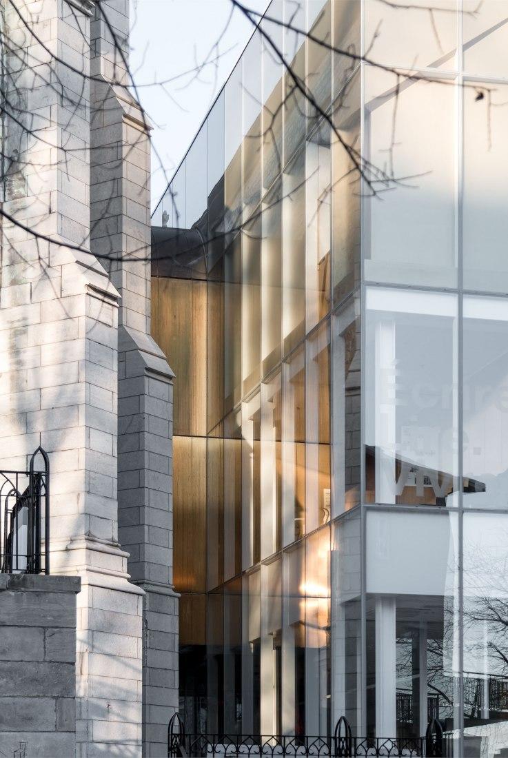 Maison de la littérature (Casa de la literatura) por Chevalier Morales Architectes. Fotografía por Chevalier Morales Architectes.
