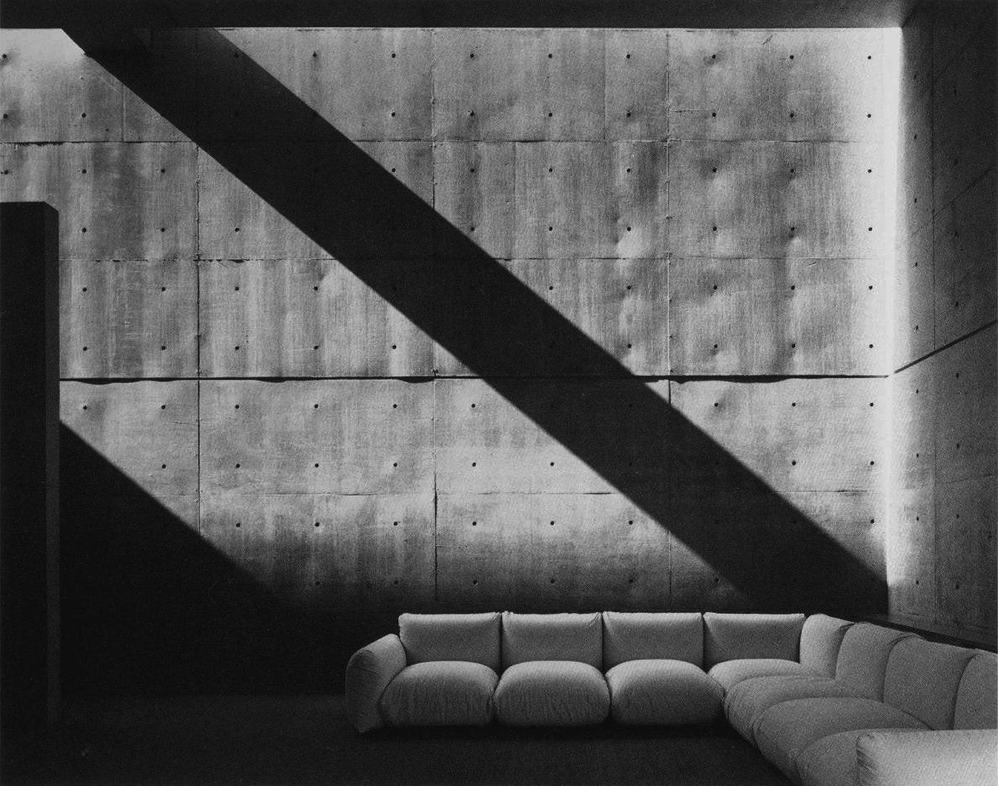Casa Koshino por Tadao Ando. Imagen cortesía de The Museum of Modern Art.