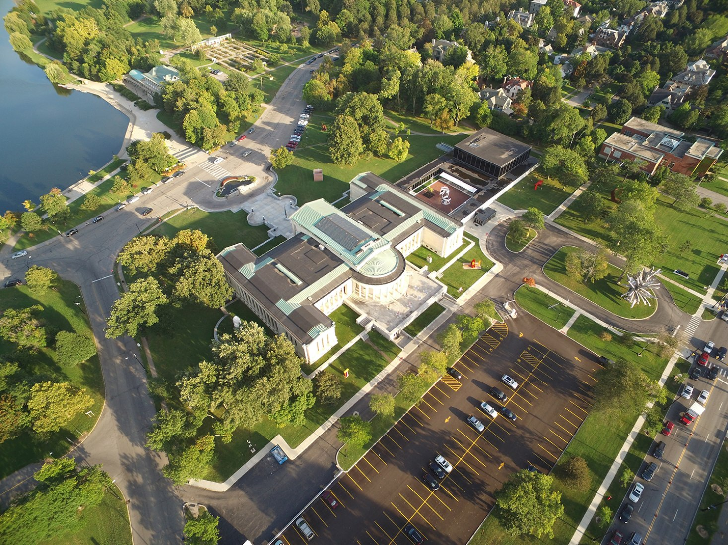 Albright-Knox Gallerie. Photograph © Marc Dellas