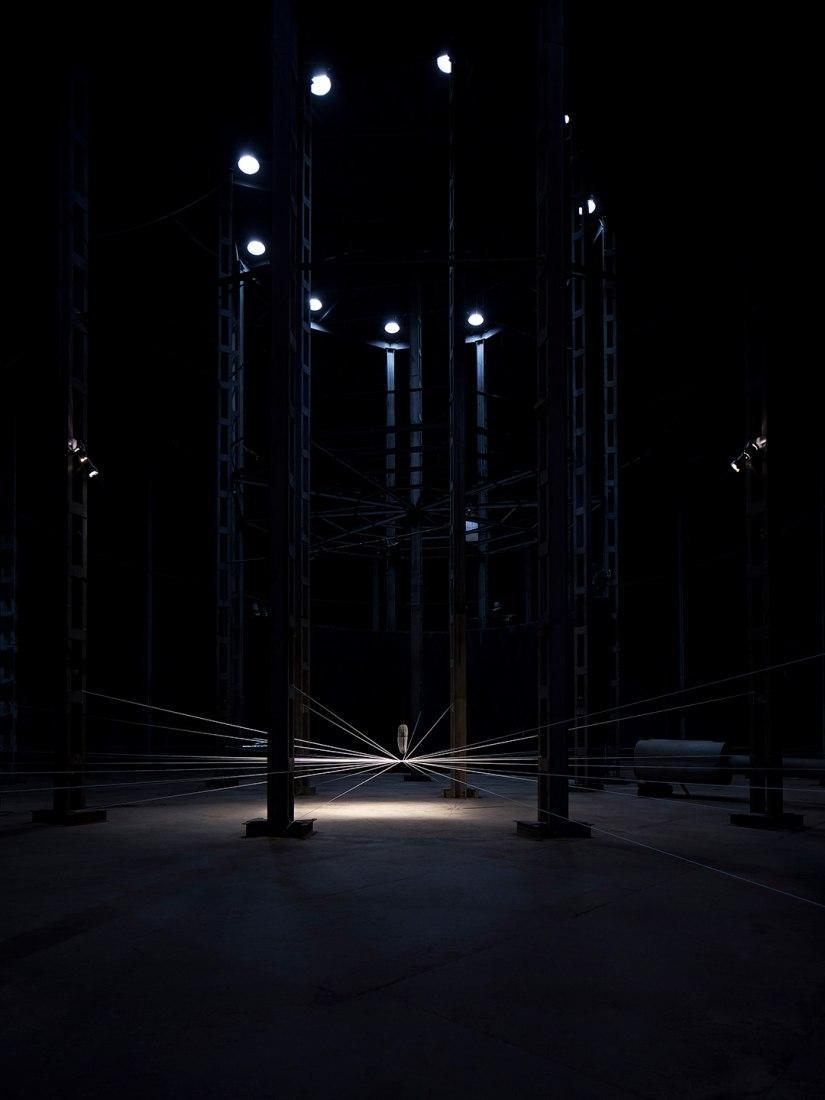 Irradiación de energia por Milton Becerra. Fotografía © José Javier Cullen.