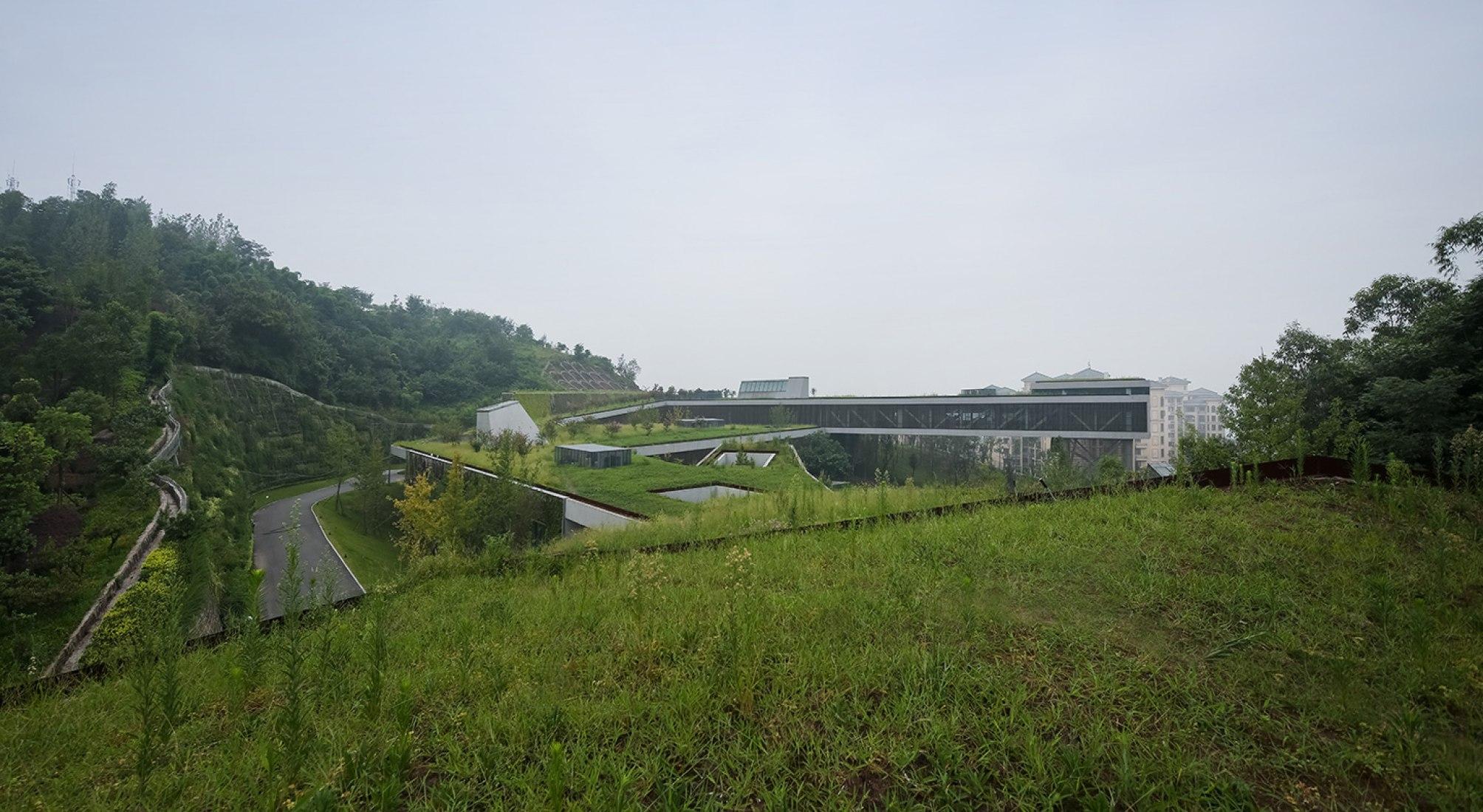 Exterior view. Taoyuanju Community Center by Vector Architects. Photography © Su Shengliang/Xiaokai Ma.