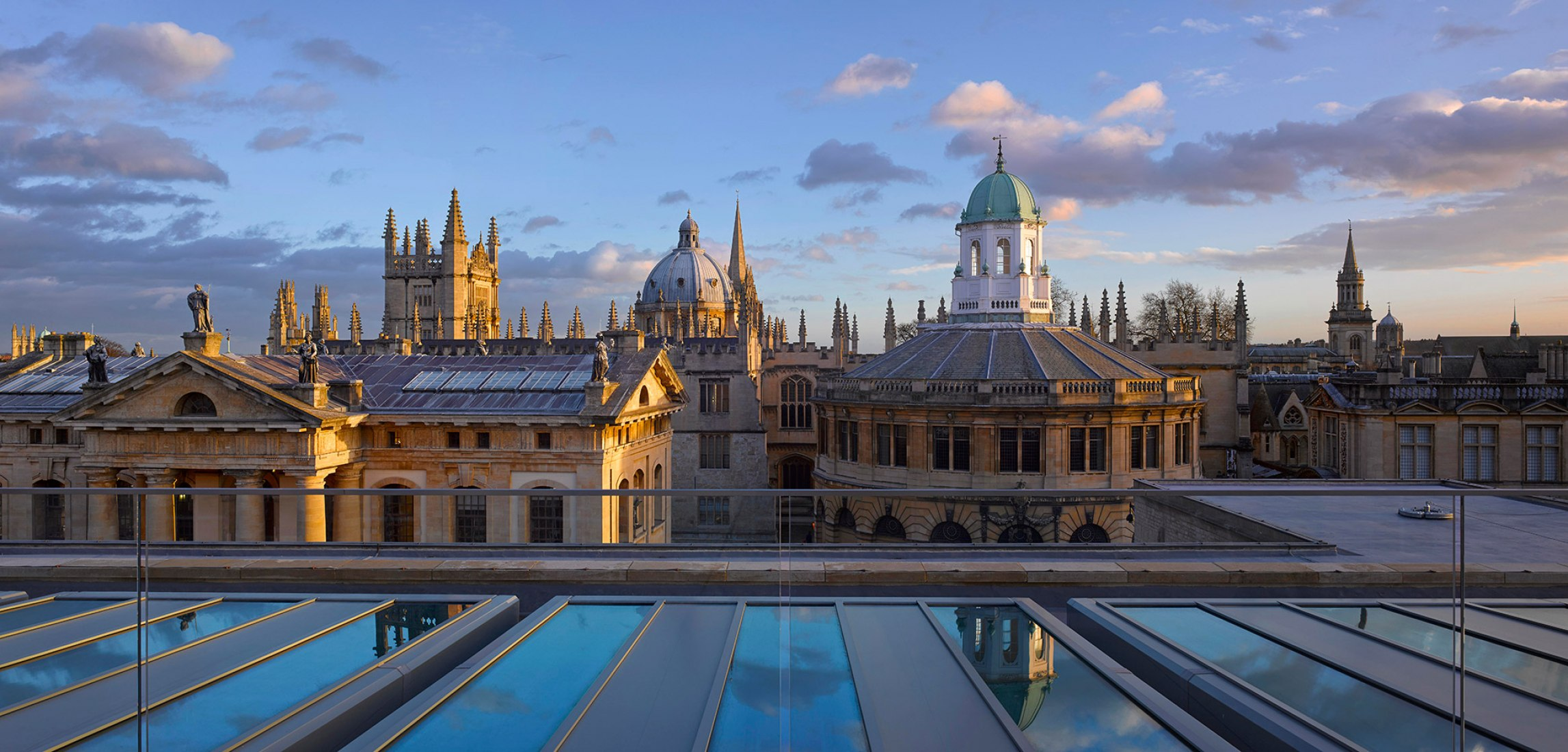 Vista de Oxford desde la azotea © Will Pryce.
