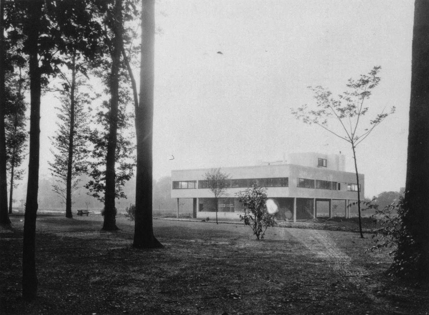 Ville Savoye (1928). Poissy, Le Corbusier. Architect, Le Corbusier.