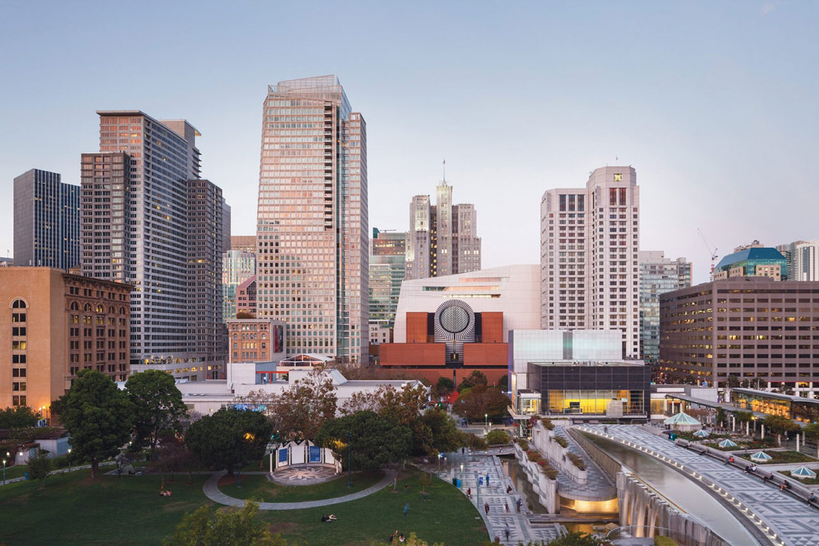 Overview. San Francisco MOMA expansion by Snøhetta. Photograph © Henrik Kam. Image courtesy of SFMOMA