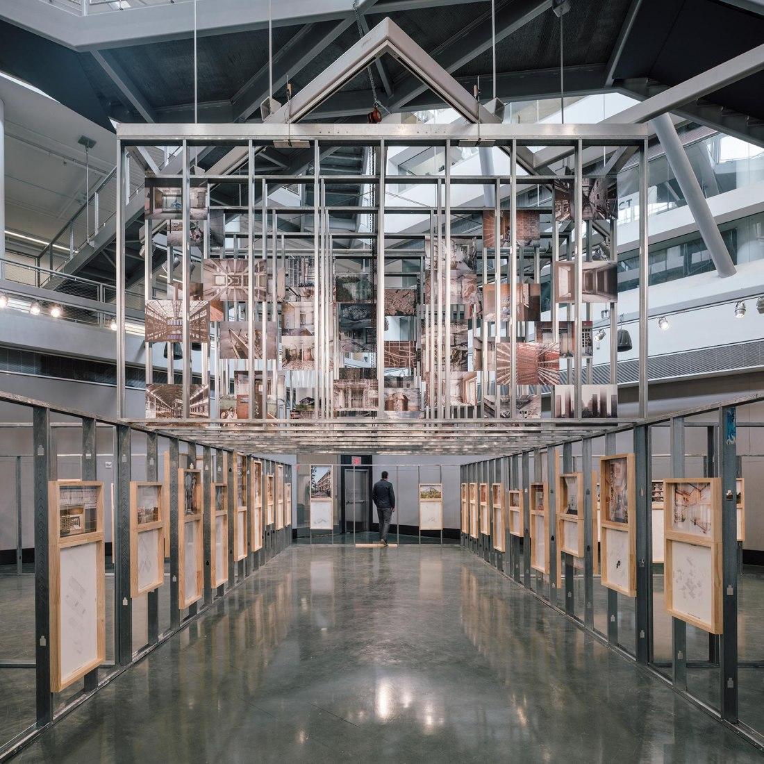 Unfinished en el City College de Nueva York por RICA Studio. Fotografía por Imagen Subliminal