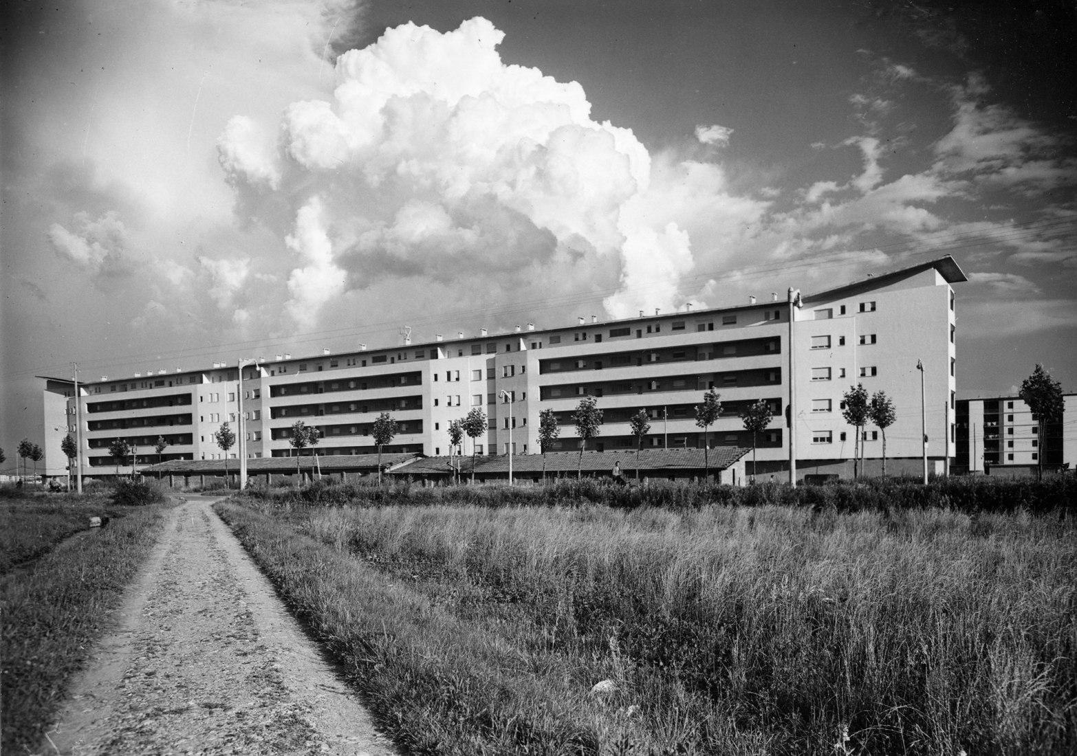 Viviendas en el distrito de Harar Dessié, Milán 1950-55. MAXXI | Gio Ponti. Amare l'architettura