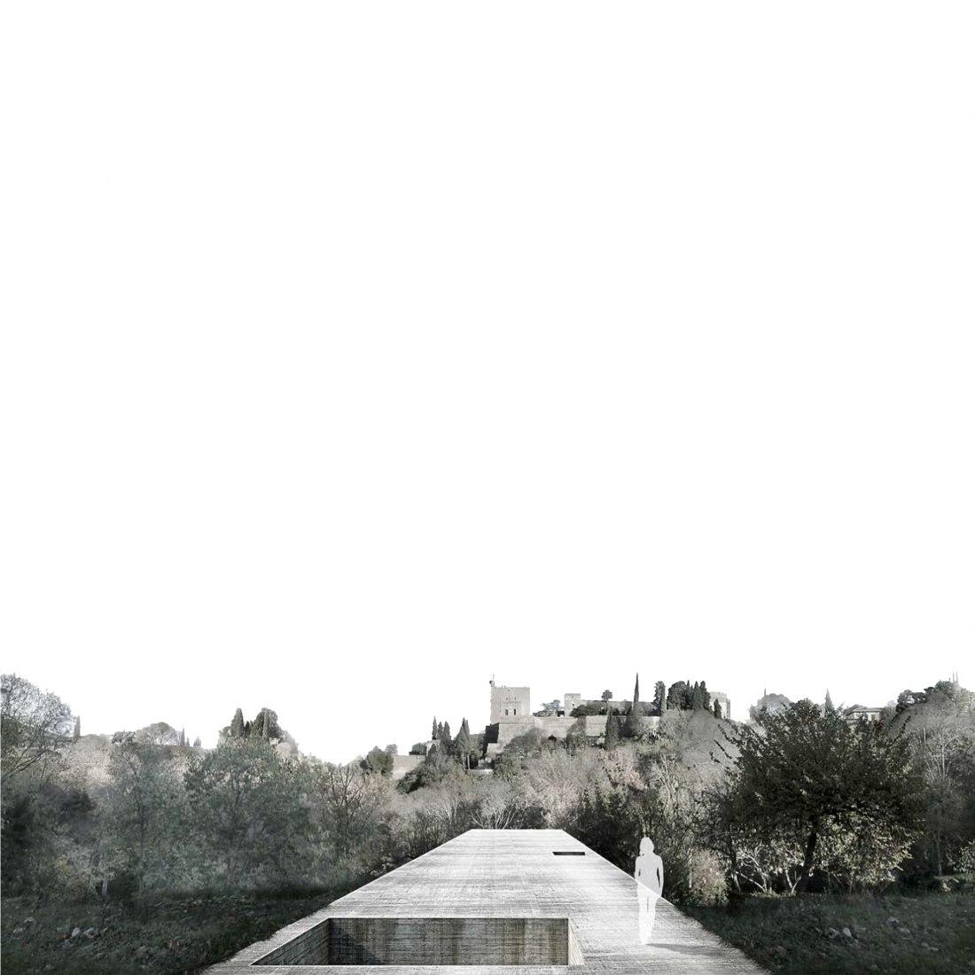 Visualización.1º Premio 2015. La promenade Alhambra por Agustín Gor Gómez