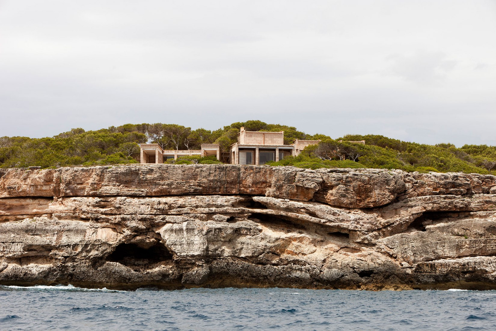 Jørn Utzon's Can Lis House. Photograph by Torben Eskerod courtesy of The Utzon Foundation