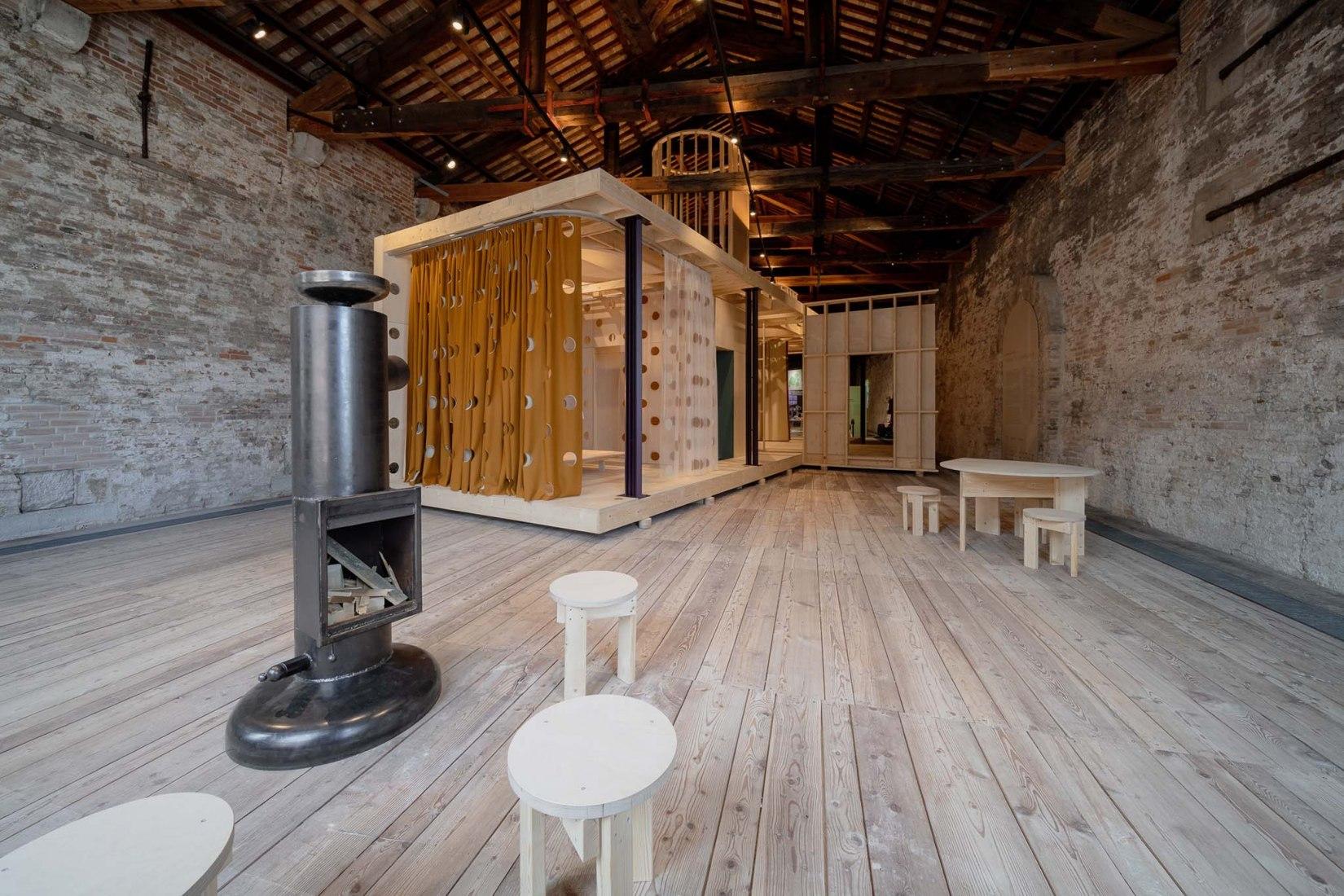 Homes for Luxembourg. Luxembourg Pavilion, 17th International Architecture Exhibition of La Biennale di Venezia. Photograph by Andrea Avezzù.