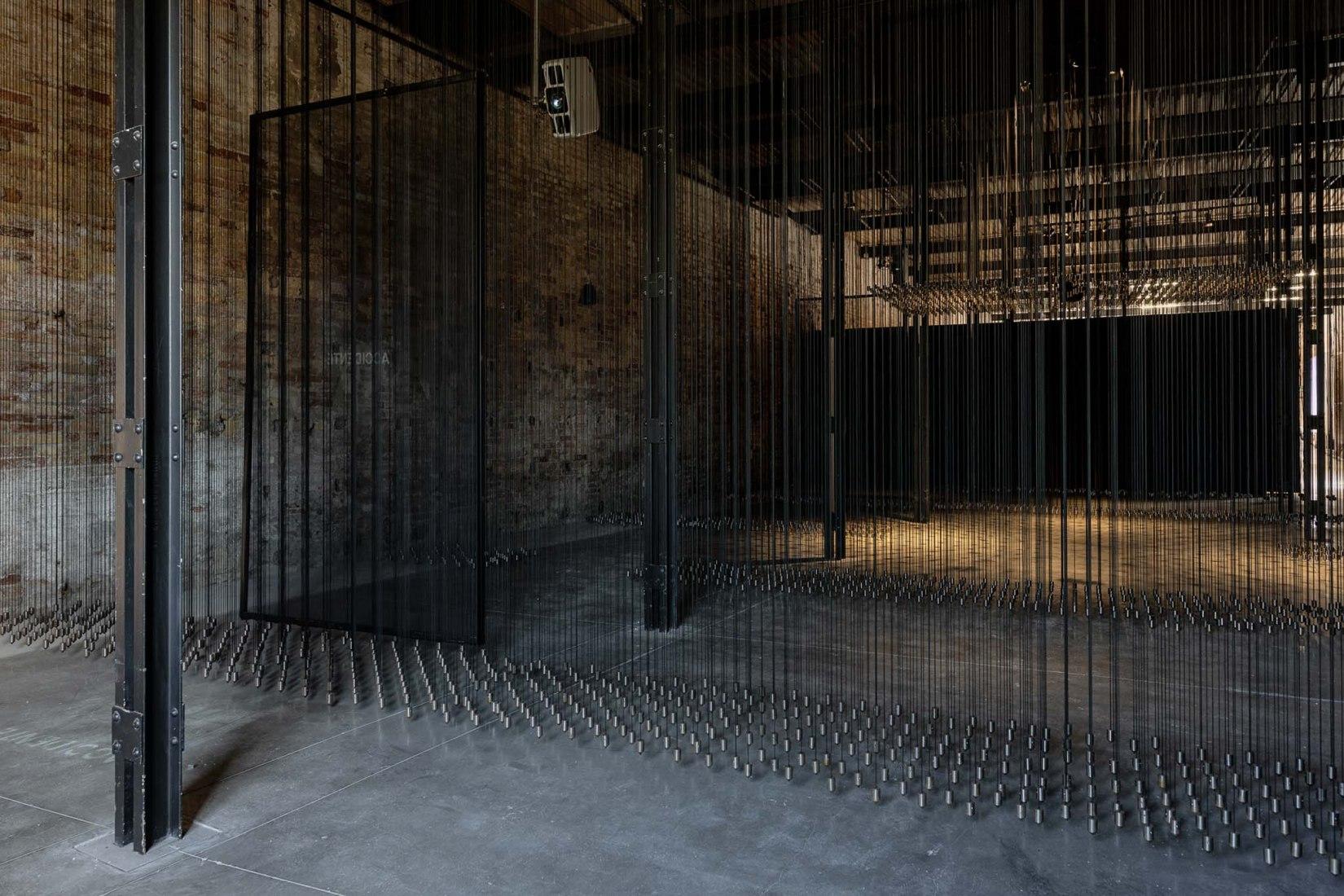 Displacements. Mexico Pavilion, 17th International Architecture Exhibition of La Biennale di Venezia. Photograph by Andrea Avezzù.
