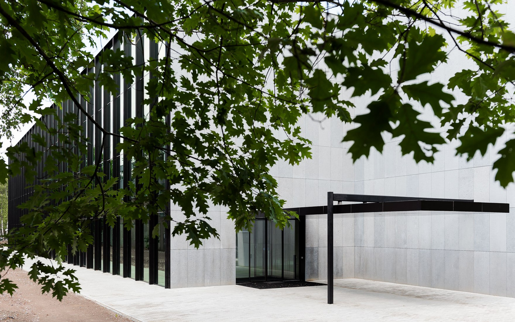 CUBE. Education and Self Study Center, by KAAN Architecten. Photograph by Sebastian van Damme