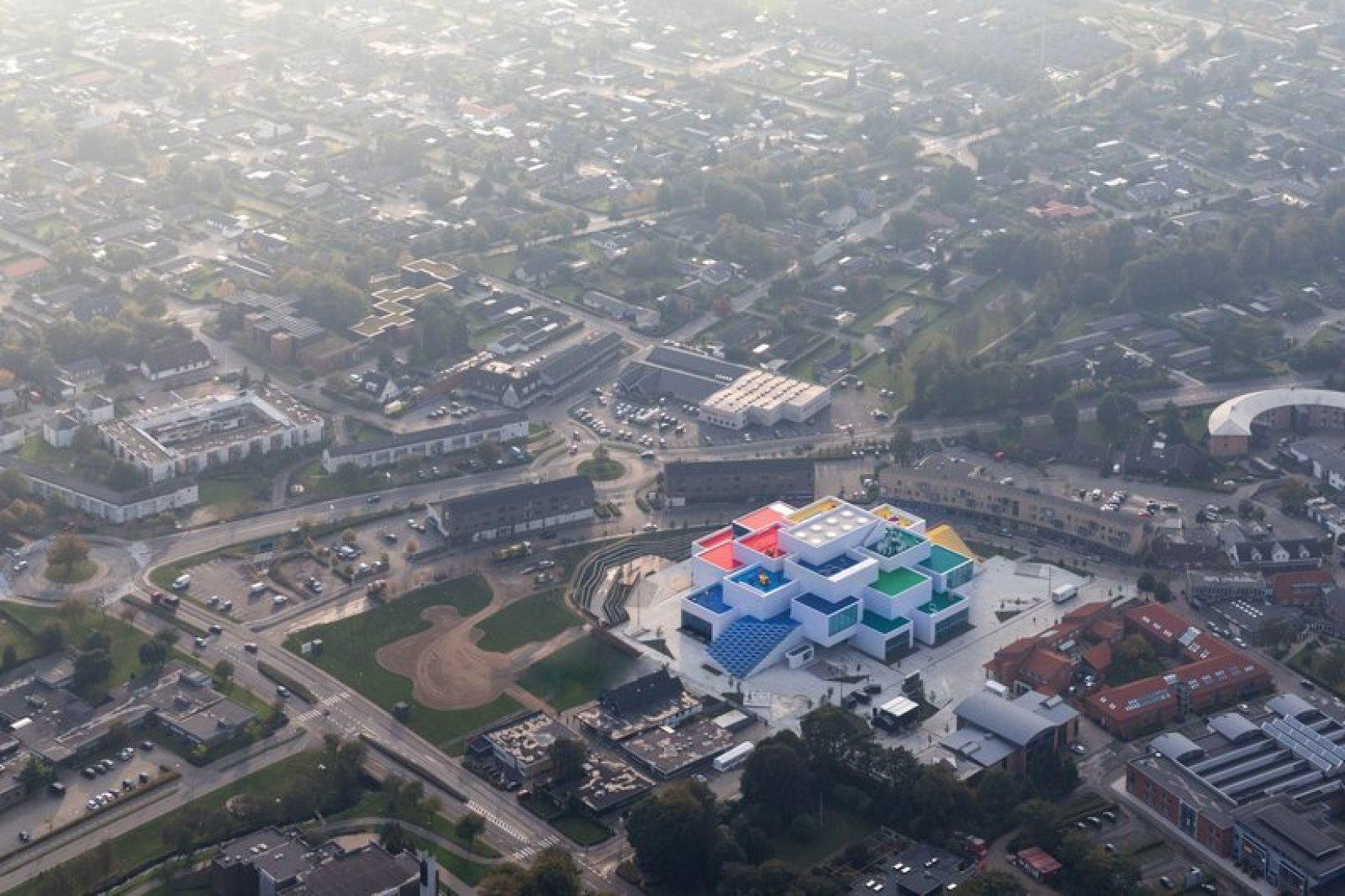 Overview. LEGO House by BIG. Image courtesy of LEGO
