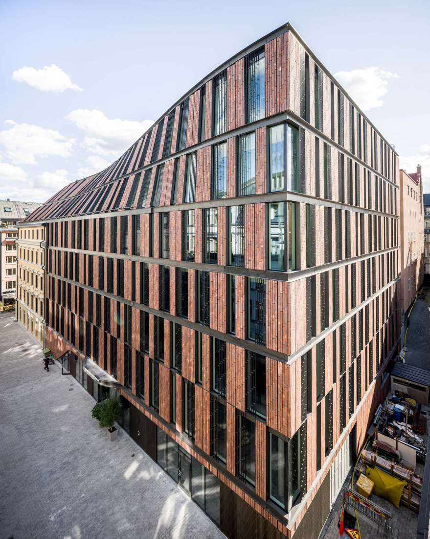Astoriahuset y Nybrogatan 17 por 3XN Architects. Fotografía por ©Rasmus Hjortshøj - COAST Studio.