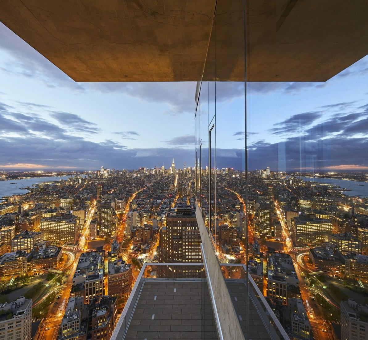 56 Leonard Street por Herzog & de Meuron. Fotografía © Hufton + Crow