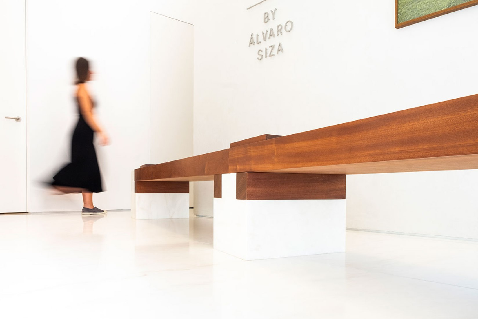 Hell's Kitchen Bench by Alvaro Siza. Photograph by Slideshow