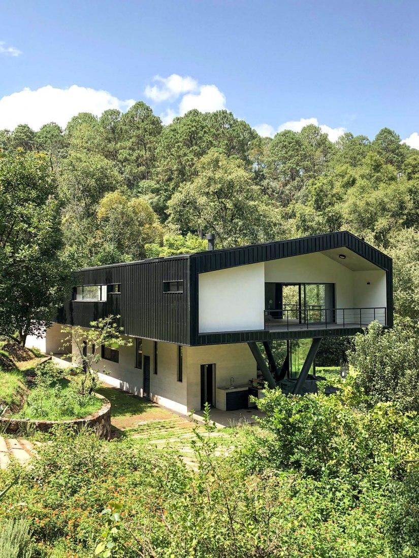 Casa Ocoxal por A-001 Taller de Arquitectura. Fotografía por Eduardo Gorozpe