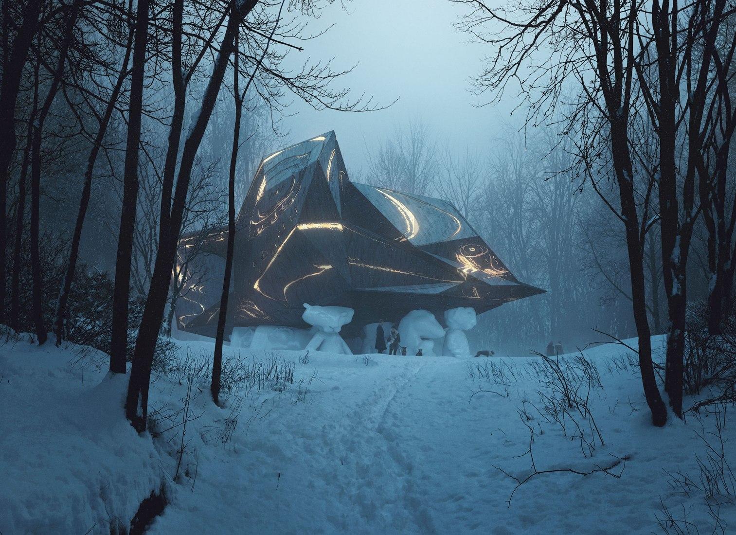 """""""Una casa en la que morir"""" por Snøhetta. Imagen cortesía de Snøhetta"""