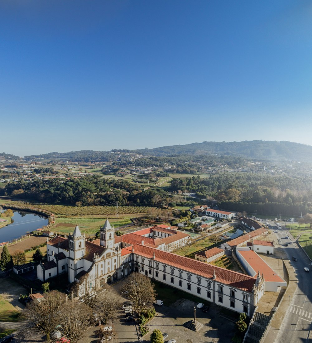 Vista general. Nuevo Museo de Abade Pedrosa por Álvaro Siza y Eduardo Souto de Moura. Fotografía © Fernando Guerra. FG+SG