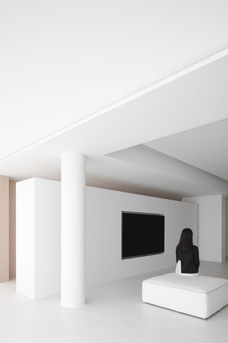 L Apartment por AD ARCHITECTURE. Fotografía por Ouyang Yun.