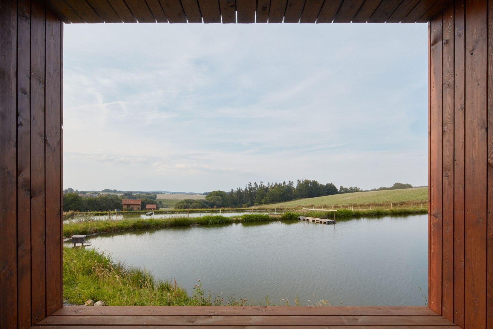 Cottage Near a Pond by Jiří Weinzettl. Photograph by Jakub Skokan, Martin Tůma / BoysPlayNice