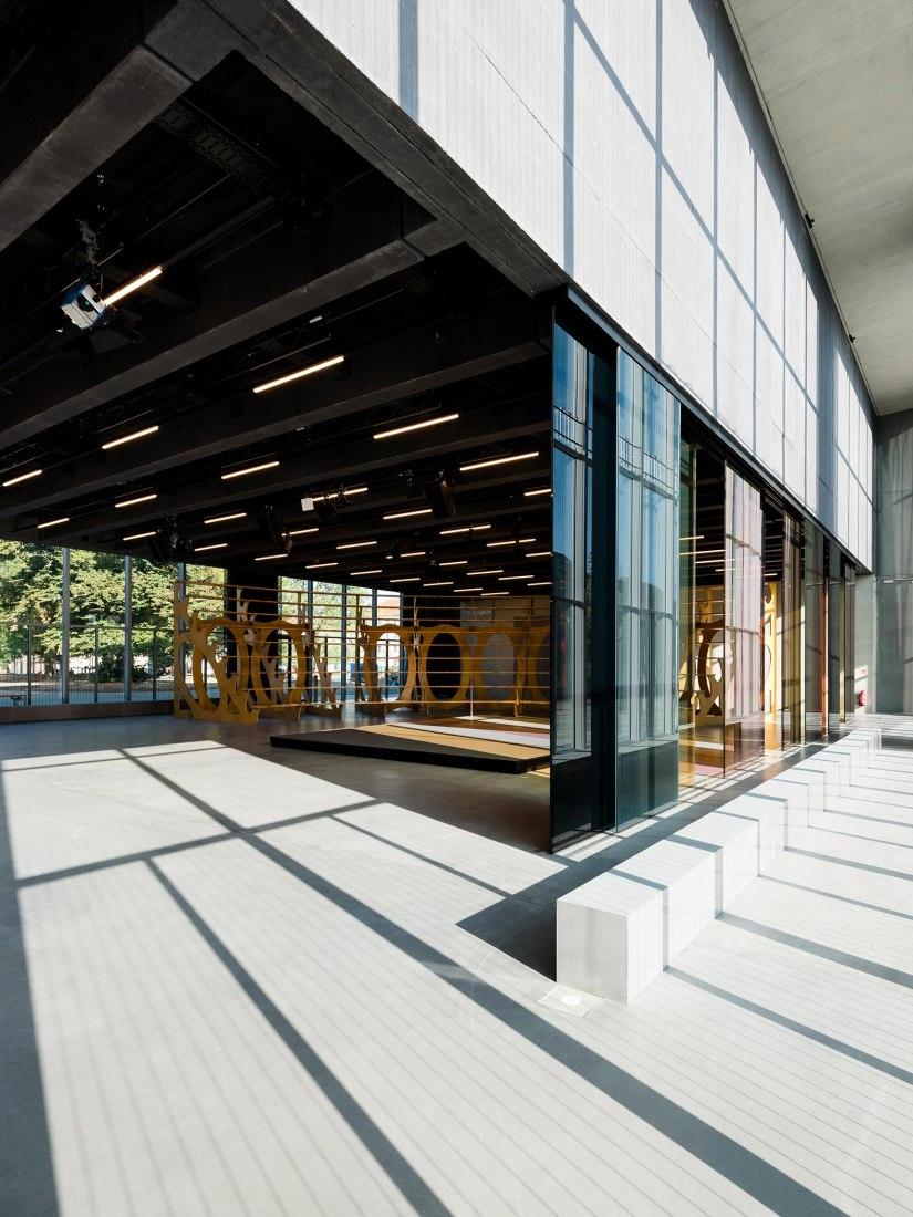 Bauhaus Museum Dessau – Open Stage. Stiftung Bauhaus Dessau / Photo: Thomas Meyer / OSTKREUZ, 2019.