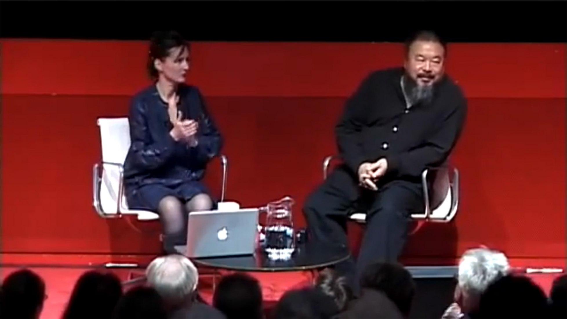 Ai Weiwei, Una conversación