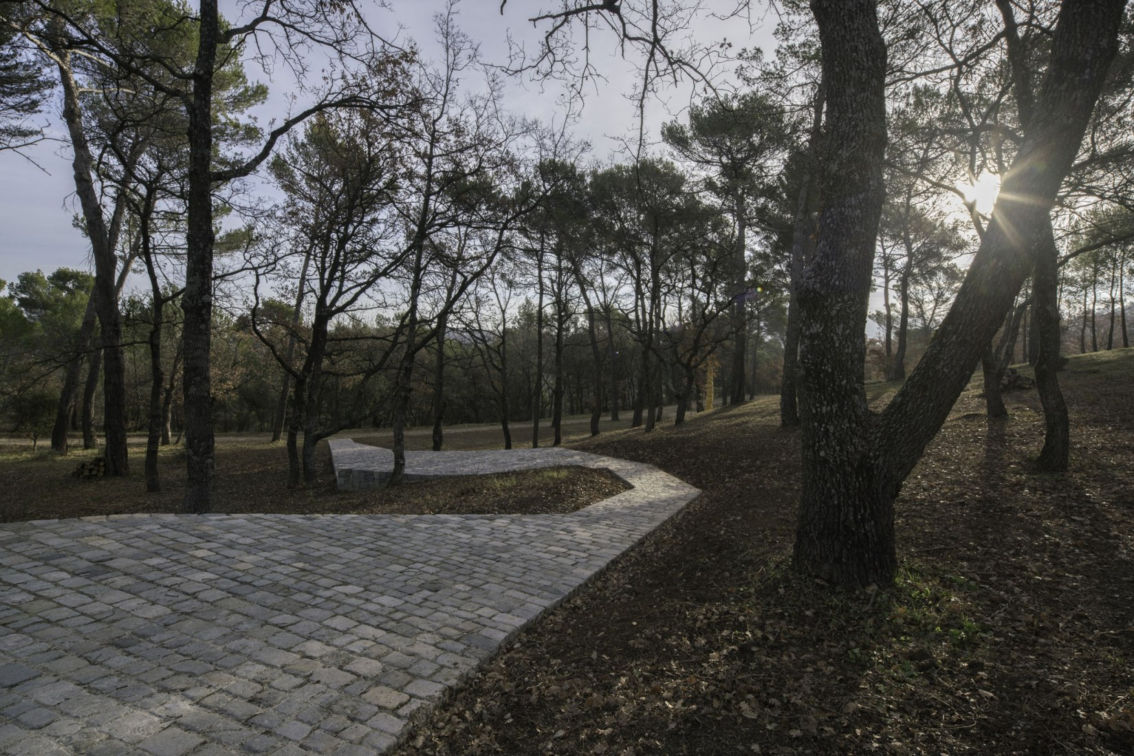Ruyi Path by Ai Weiwei in Château La Coste. Image © Wearecontent(s)