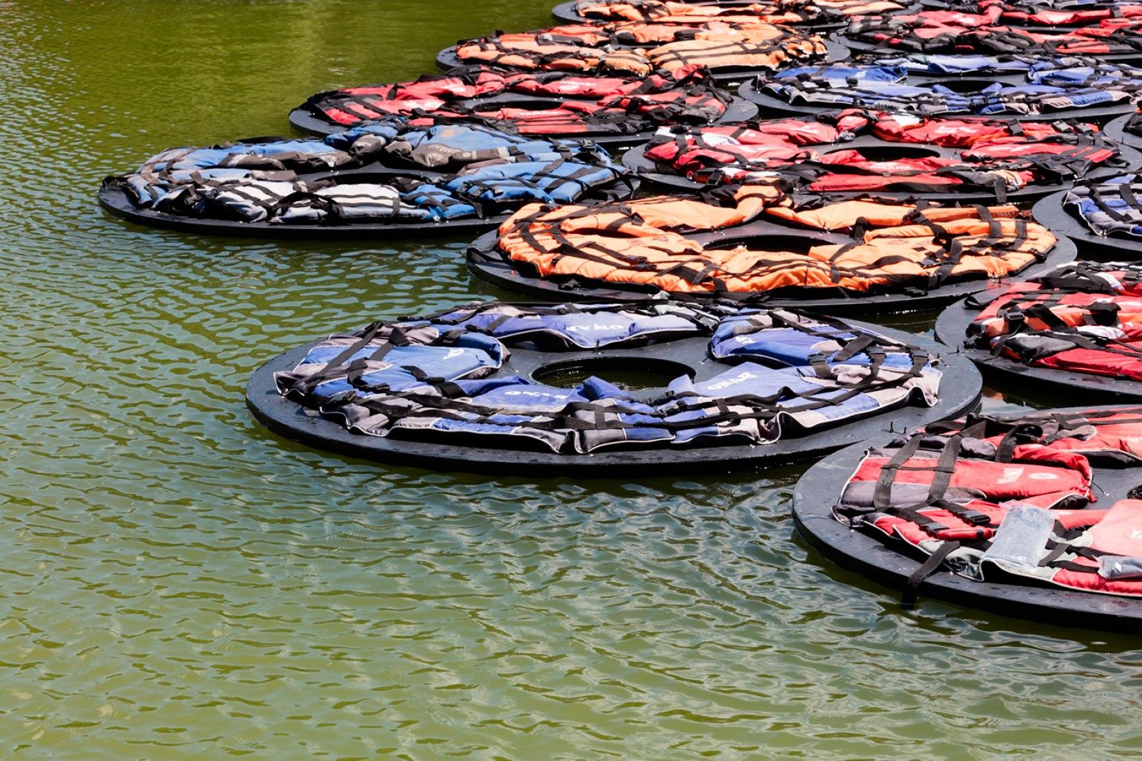 F Lotus por ai Weiwei. Fotografía © Belvedere, Vienna.