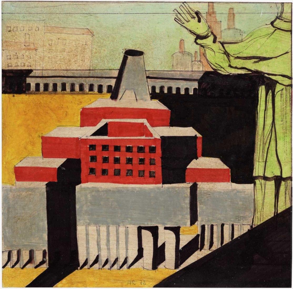 Aldo Rossi: Arquitectura con santo. Imagen cortesía de MAXXI.