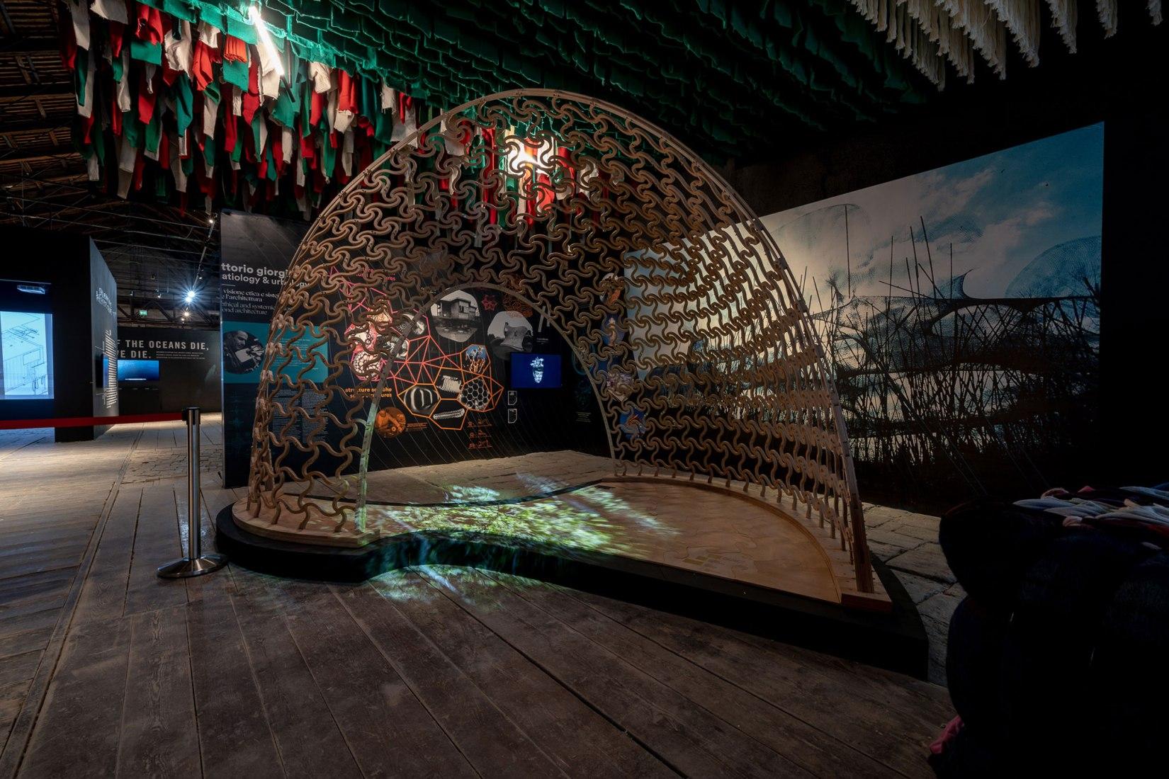 Resilient Communities, Italian Pavilion at the Biennale di Venezia by Alessandro Melis. Photograph by Andrea Avezzù.