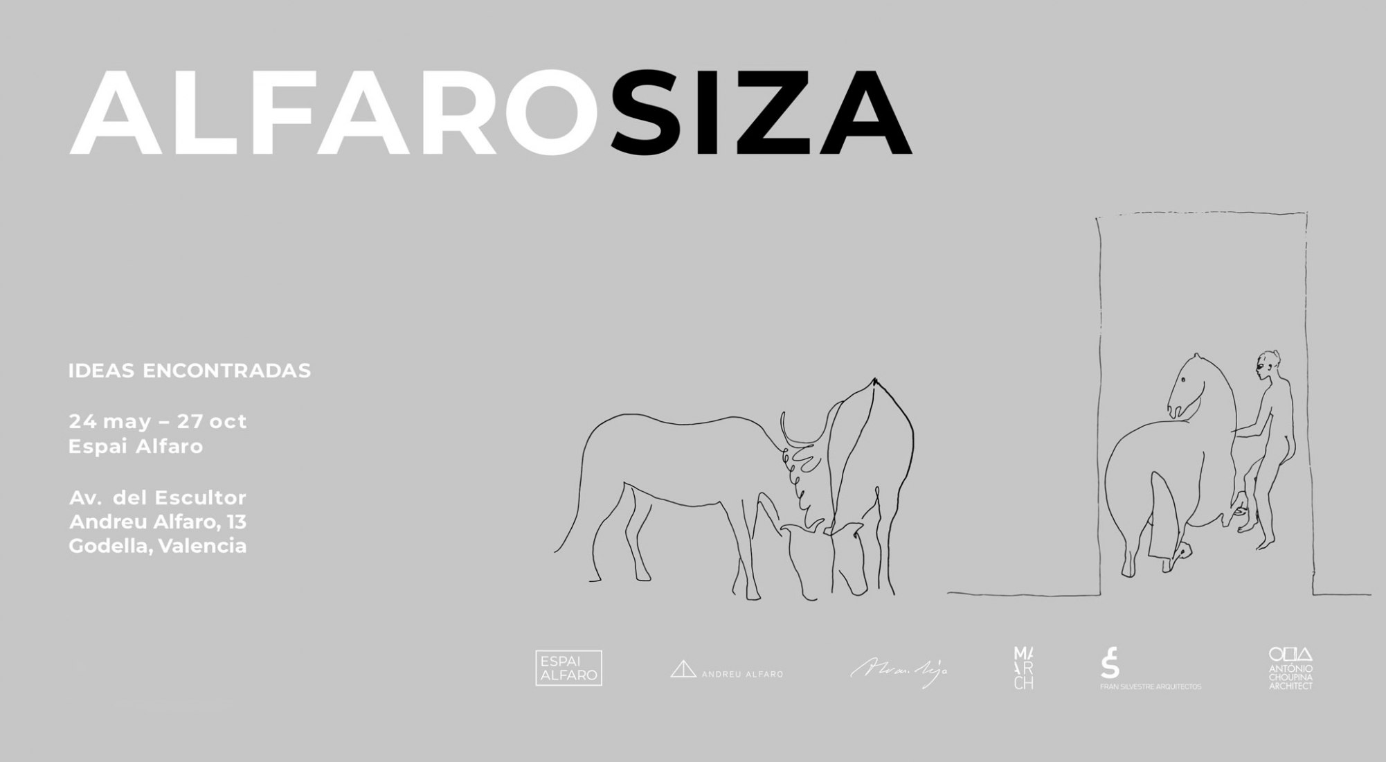 Poster. ALFAROSIZA. Ideas encontradas