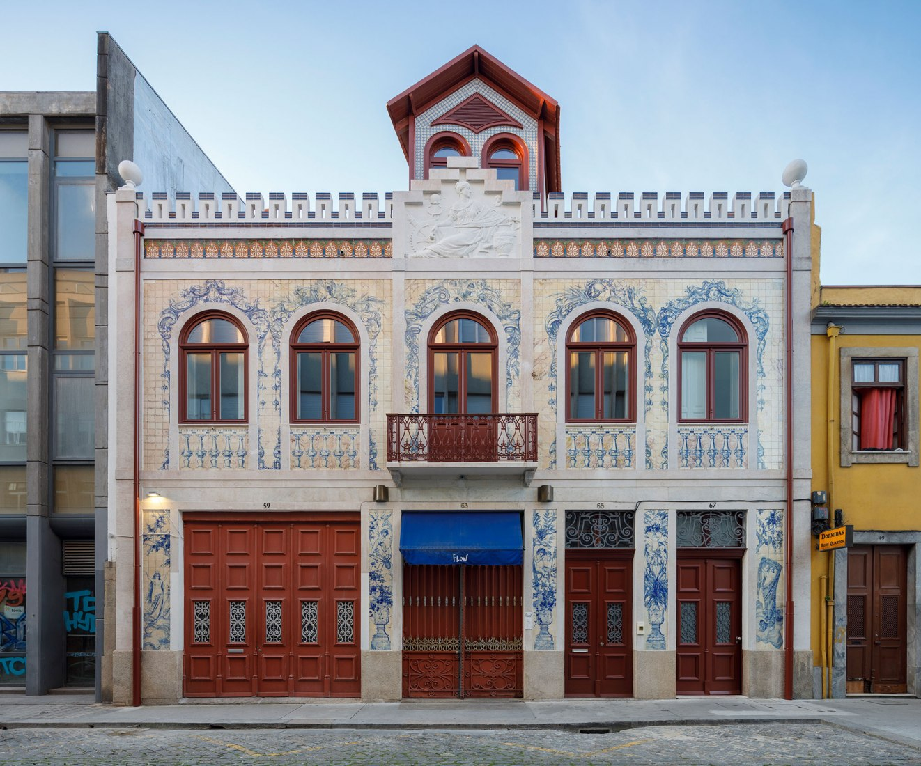 Devesas Factory Building by Anarchlab. Photograph by Ivo Tavares Studio