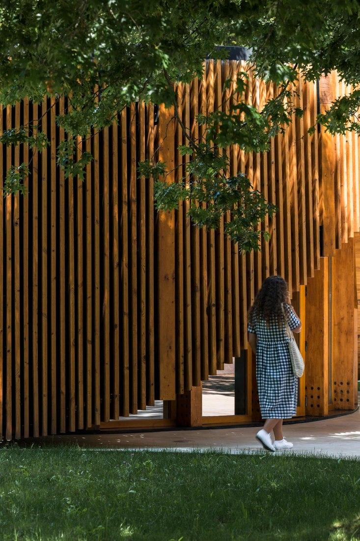 Punto de Información Turística de Alto Tâmega por AND-RÉ Arquitectura. Fotografía por Ivo Tavares Studio.