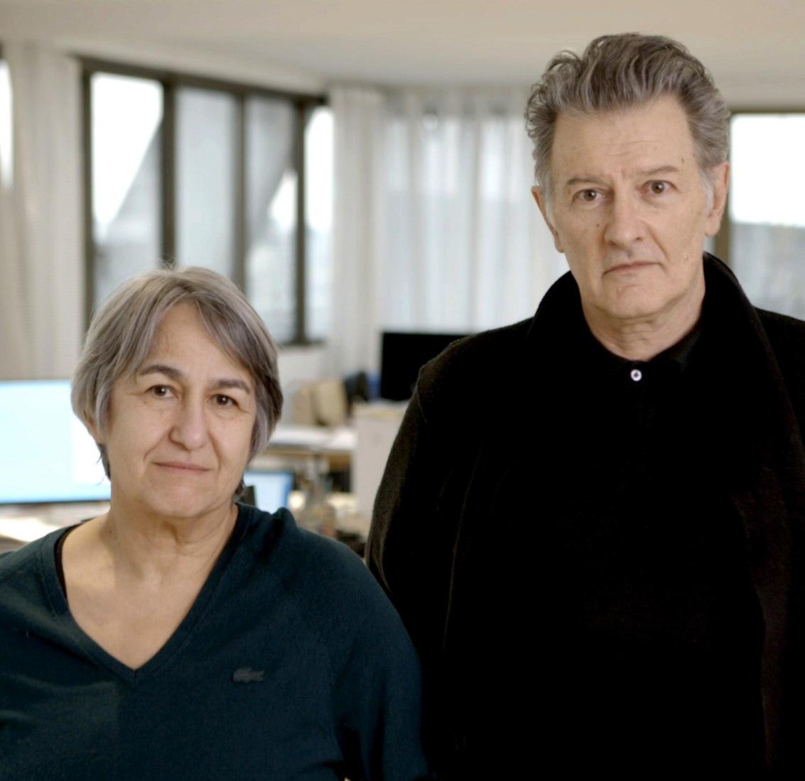 Anne Lacaton y Jean-Philippe Vassal. Fotografía por Laurent Chalet, cortesía del Premio Pritzker