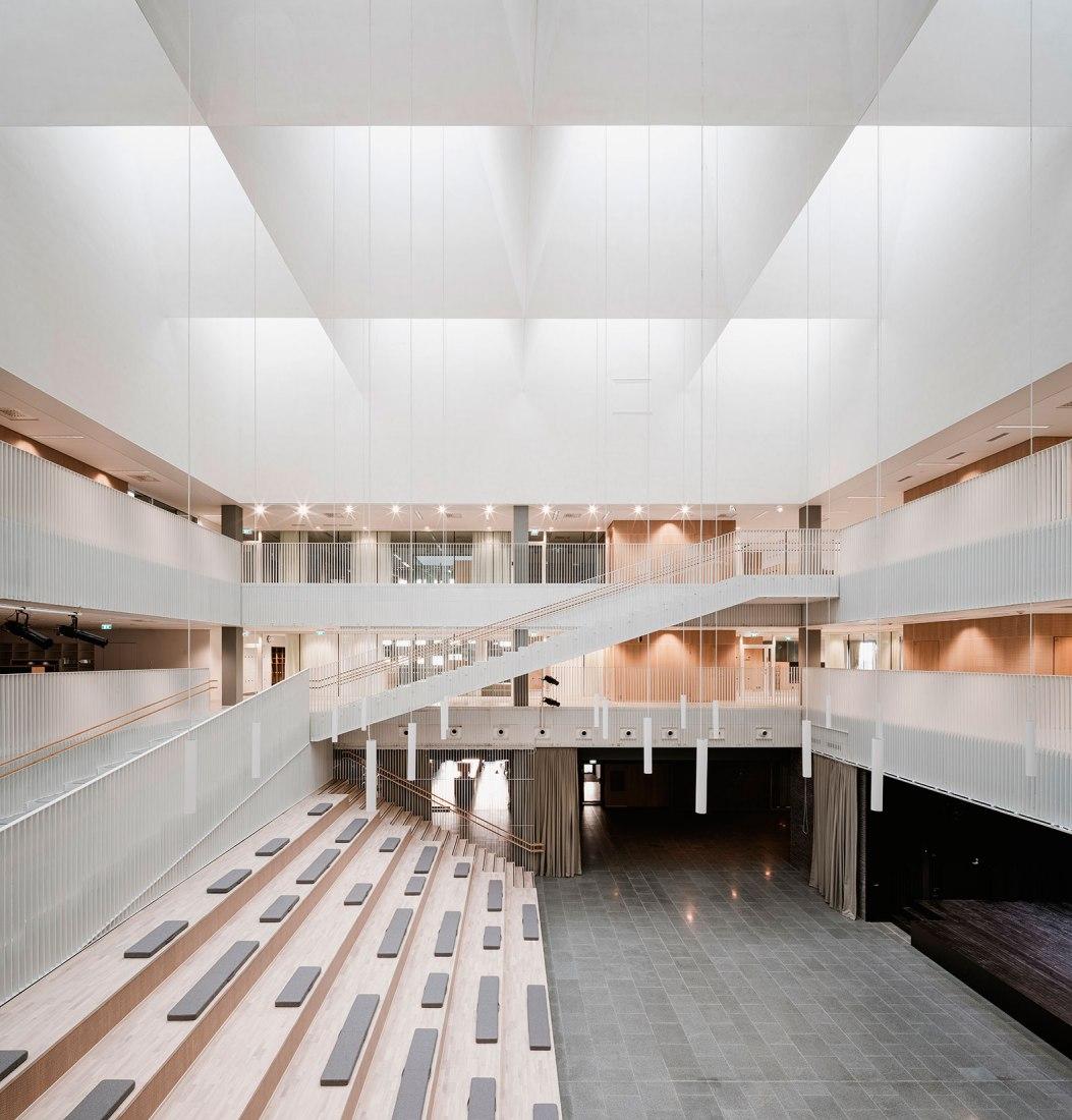 Jätkäsaari School by AOR Architects. Photograph by Pyry Kantonen.