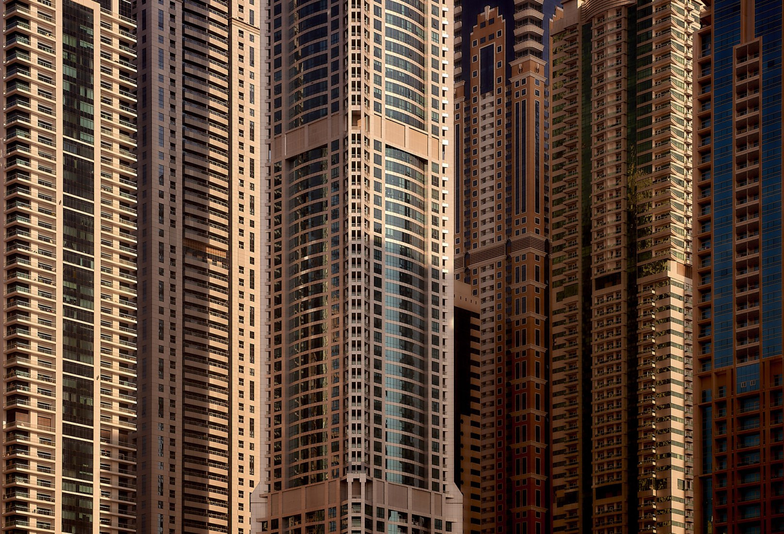 """Architecture of Density"" por Manuel Álvarez, como tributo a la obra de Michael Wolf. Fotografía de Manuel Álvarez."