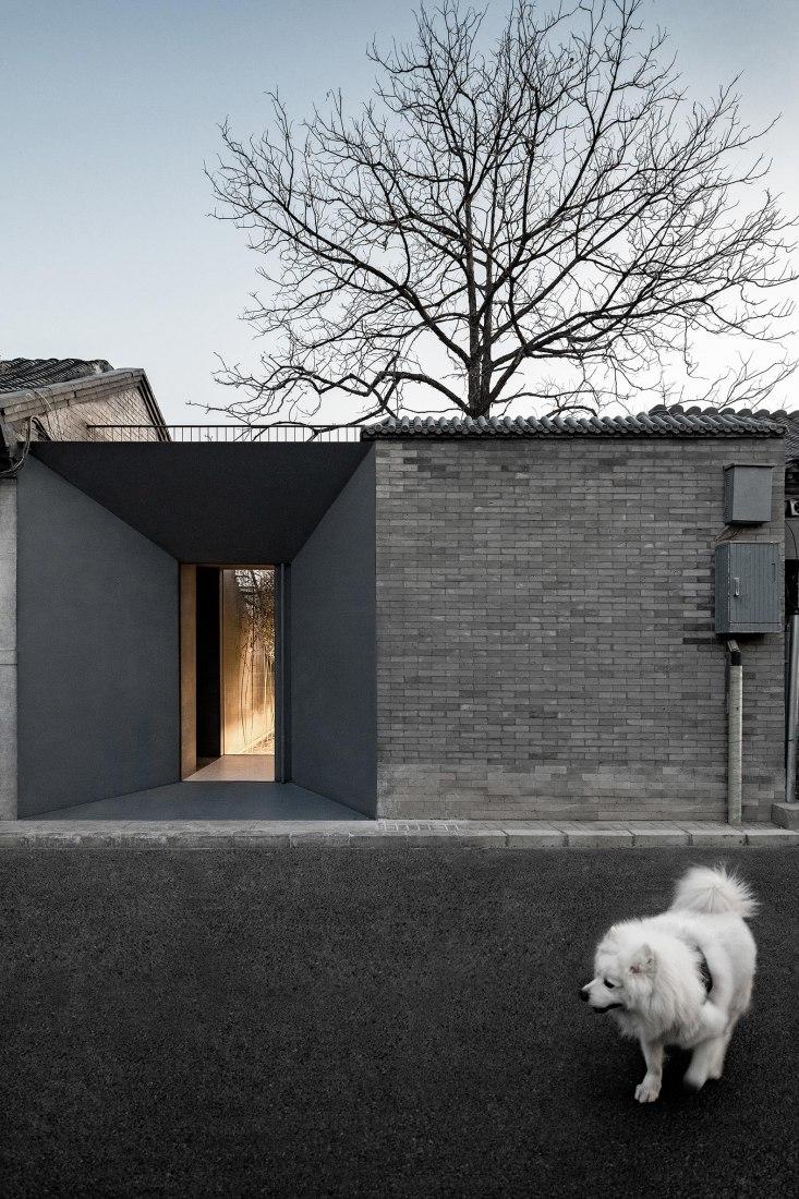 Folding Courtyard by ARCHSTUDIO. Photograph by Wang Ning