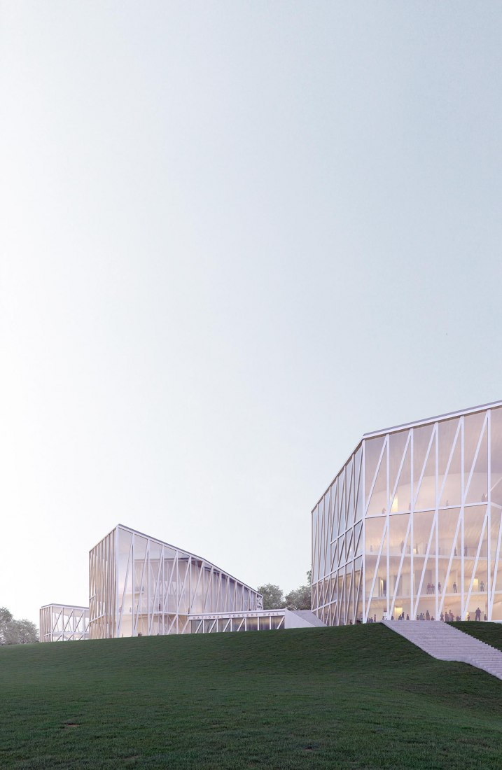 1st Prize. Rendering. Vilnius National Concert Hall by Arquivio architects