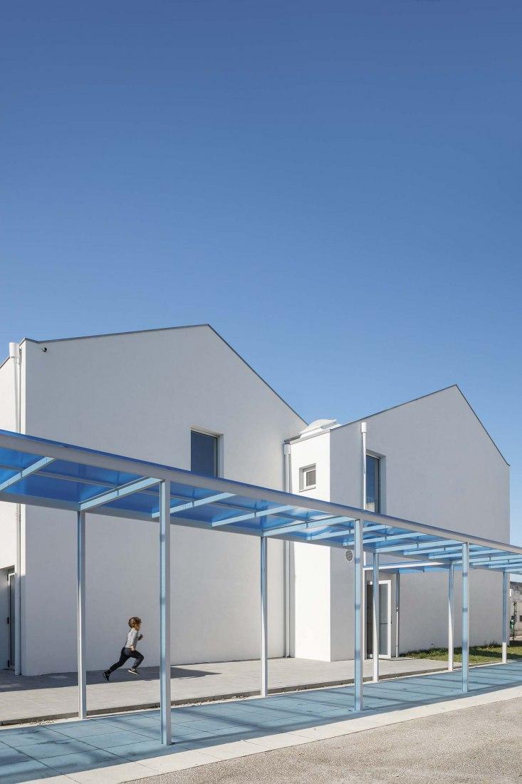 São Bernardo Elementary School, Aveiro by Arte Tectónica. Photograph by Ivo Tavares Studio.
