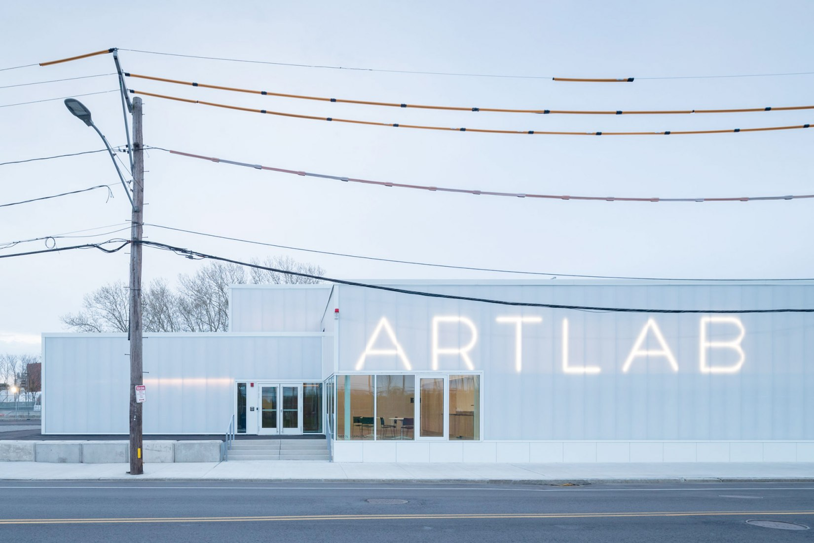 Harvard University's ArtLab by Barkow Leibinger. Photograph by Iwan Baan