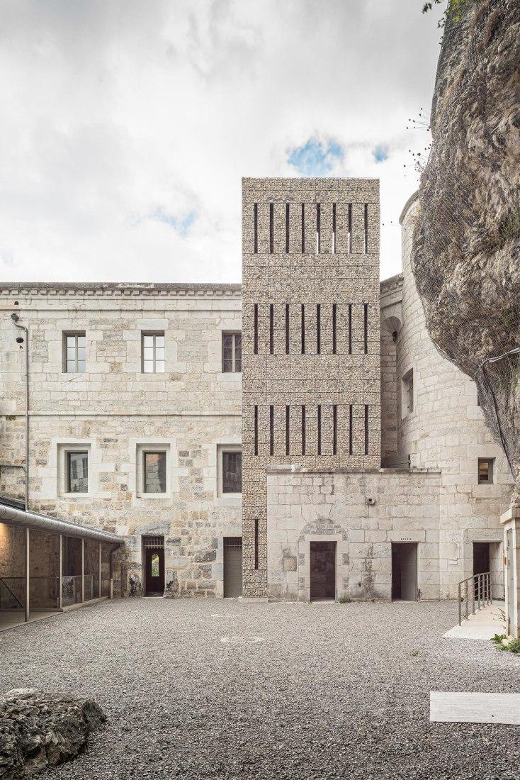 Museo Fort l'Écluse por Atelier PNG. Fotografía cortesía de Atelier PNG