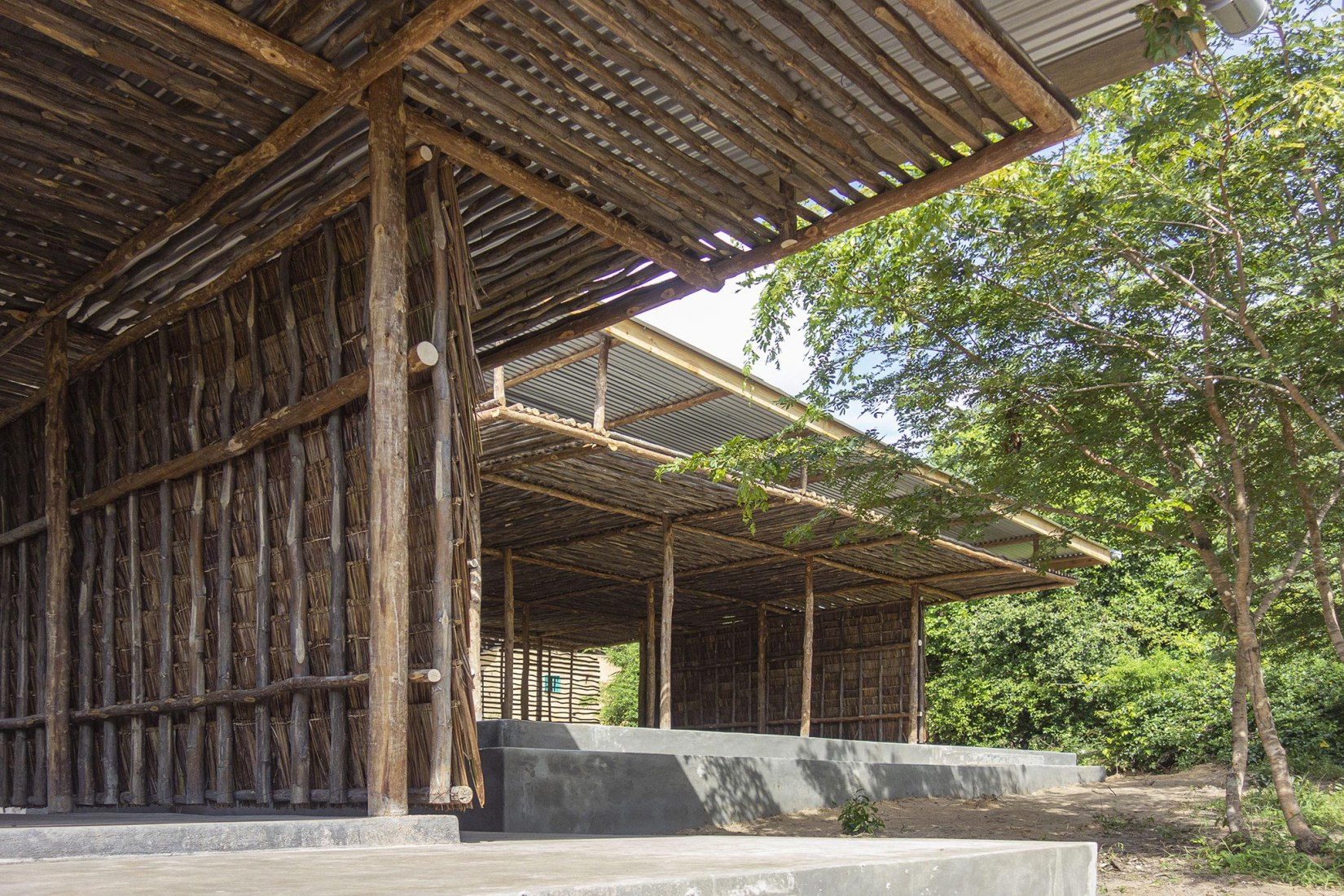 Eco Moyo Education Centre  Kindergarten by AUG, Architectopia, Jan Kazimierz Godzimirski. Photograph by Jan Kazimierz Godzimirski
